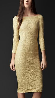 English Lace Dress | Burberry