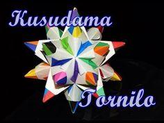Kusudama Tornilo - Dodecaedro Estrelado - YouTube