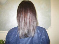 Extension a Roma: da capelli corti e sottili a capelli lunghi e folti (PRIMA) - www.extension-roma.it