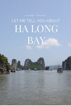 Ha Long Bay, in every photo I've ever seen looks like one the most magical places on earth. [see below] Besides that, it's mentioned in all kinds of top 100 things to Vietnam Hotels, Visit Vietnam, Hanoi Vietnam, Vietnam Travel, Laos, Holiday Destinations, Travel Destinations, Ha Long Bay, Bali Travel