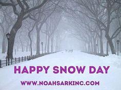 Happy Snow Day from Noah's Ark Moving! 1-8NOAHS-ARK8 (866-247-2758)