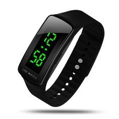Hiwatch Led Watch Fashion Sport Waterproof Digital Watch Boys Girls Men Women #HIwatch #Sport