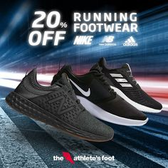 New kicks before the new year! 20% OFF all running styles from Nike, adidas and New Balance only today until December 29! #TAFph #sportwithstyle #basketballshoes #mensathleticshoes #mensfashionsneakers #womensathleticshoes #womensfashionsneakers #womenssportshoes #mensportsshoes #mensactivewear #mensrunningshoes #womenswalkingshoes #sportshoes