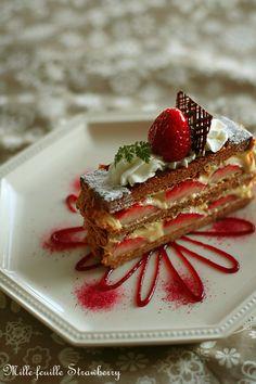 苺のミルフィーユ : coupe-feti