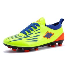 online store 45ddc 2afca New Arrival Adults Men s Outdoor Soccer Cleats Shoes low top TF FG Long  Spikes Football Training Sports Sneakers Shoes-in Soccer Shoes from Sports  ...