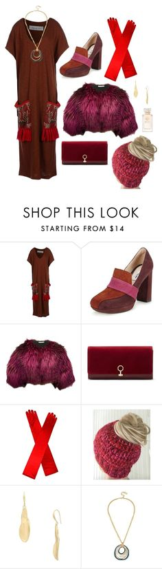 """Ultra long"" by perpetto ❤ liked on Polyvore featuring Soho de Luxe, Clarks, Oscar de la Renta, Louise et Cie, Robert Lee Morris and Tory Burch"