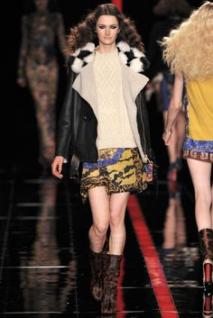 Just Cavalli - Fall 2013 Ready-to-Wear - Look 6 of 52