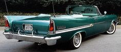 1958 Chrysler Windsor - cars, mid-century modern, space age design