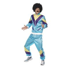 7bb8166e322a3 Smiffys 80s Height of Fashion Shell Suit - £25.99 - A great collection of  Smiffys