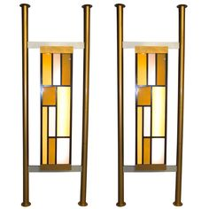 Pair of Architectural Light Box Room Dividers | From a unique collection of antique and modern architectural elements at http://www.1stdibs.com/furniture/building-garden/architectural-elements/