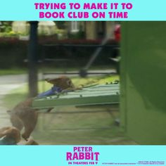You can always blame traffic. now in theaters everywhere! Funny Movie Memes, Haha Funny, Funny Shit, Funny Quotes, Life Quotes, Hilarious, Baby Shower Fall, Fall Baby, Peter Rabbit Movie