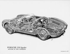 The level of spatial awareness needed to hand draw a cutaway like this, a work by Shin Yoshikawa, blows my mind.