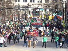"Binghamton NY St. Patrick's Day Parade 3/5/16 ""The Parade"" (slideshow)"