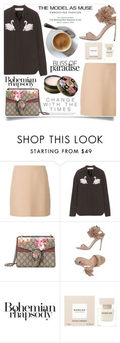 """""""Simple Outfit #201"""" by rizkafathi ❤ liked on Polyvore featuring Theory, STELLA McCARTNEY, Gucci, Gianvito Rossi, Murphy, Narciso Rodriguez, Anna Sui and polyvoreeditorial"""