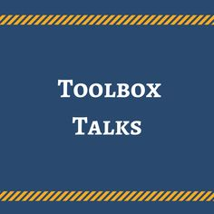 11 Best Toolbox Talks images in 2018 | Safety meeting