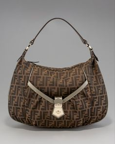 d8ca61f1ca84 Colored Trim Chef Hobo by Fendi at Neiman Marcus. Luxe Life