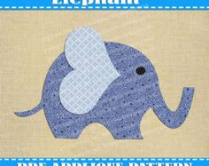 Turtle Applique Pattern Template PDF by AdornablePatterns on Etsy