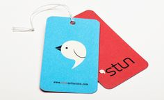 Hangtag I created for Stun, a premium line of girl's clothing.