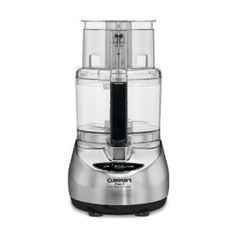 Cuisinart Brushed Stainless Steel Food Processor at Lowe's. The Cuisinart Prep 11 Plus food processor boasts a seamless blend of style and function. The brushed stainless finish adds an upscale touch to all Food Processor Uses, Cuisinart Food Processor, Food Processor Recipes, Small Appliances, Kitchen Appliances, Kitchen Gadgets, Kitchen Tools, Kitchen Stuff, Kitchen Ideas