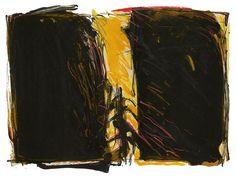 Kjell Nupen Printmaking, Norway, Paper Art, Abstract Art, Edvard Munch, Watercolor, Fine Art, Contemporary, Rock