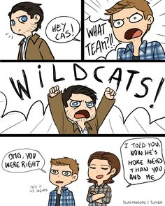 YES OMG SUPERNATURAL AND HIGH SCHOOL MUSICAL = LIFE! Amazing High School Musical Reference