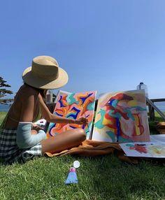 Arte Peculiar, Tableaux Vivants, Artist Aesthetic, Aesthetic Drawing, Art Hoe, Summer Dream, Summer Aesthetic, Belle Photo, Aesthetic Pictures