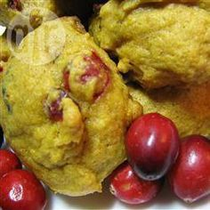 Biscuits canneberges et citrouille @ qc.allrecipes.ca
