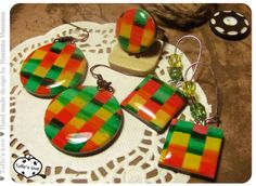 Acrylic on plastic strips - Fair Masters - handmade, handmade