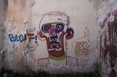 Sarajevo Olympic ruins graffiti