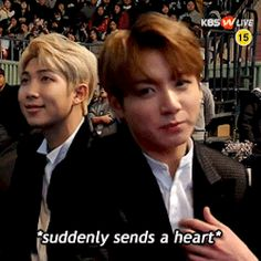 Aha the golden maknae *sends back a heart*