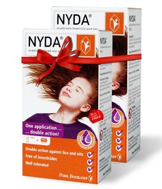 Get rid of Head Lice and Eggs too. Effective Lice Treatment for Adults and Childrens above 2 years.