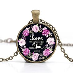 Love One Another Like I Have Loved You Necklace #LoveIsForeverUs