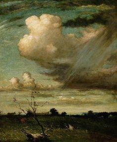 Elliott Daingerfield - Stormy Landscape