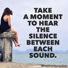 Real power is in the silence. Every sound comes from silence and returns to silence. Silence is the infinite field in which sounds happen.  When we are aware of silence we are in contact with the infinite field of consciousness in which every phenomenon happens.  Keep on practicing one moment at a time.
