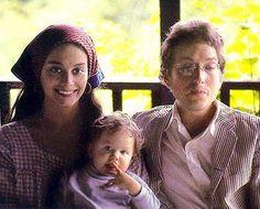 #BobDylan and #SaraDylan Bob Dylan's wife #baby