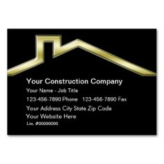 272 best construction business cards images on pinterest business construction business cards reheart