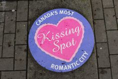 Victoria, BC | Canada's most romantic city... Can you find the secret kissing spot?