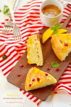 Pineapple-Mango Upside-Down Cake | Mango | Pinterest | Cakes and ...