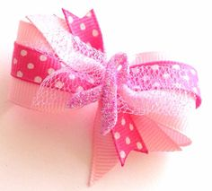 Cancer Awareness Ribbon Cancer Awareness Dog Bow by CreateAlley, $6.99