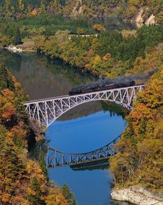 Tadami River First Bridge, Aizu, Fukushima, Japan, 只見第一橋梁, 会津, 福島, 日本