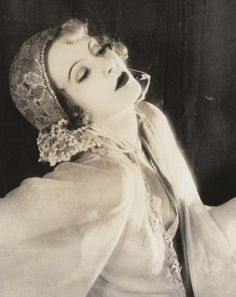 Greta Garbo 'The Temptress', by Louise Ruth Harriet 1926