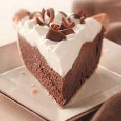 French silk pie is a decadent pie. It is creamy chocolate topped with sweet cold whipped cream then garnished with beautiful chocolate curls. It is the perfect way to end any meal. Below you will find the recipe and tips on how to be the all star at your next get together with family or friends.