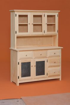 DRP Dutch Country Hutch Dining Room