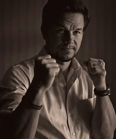 """Mah Boston Boyyy ;) Mark Wahlberg. One of the manliest men. People say he's """"cocky"""" - but it's a Bostonian vibe :P In seriousness, there's a culture there that people just don't understand. I see the good in him & I forgive his past. He's talented, funny, & in my opinion, actually an entertaining, fine actor. He came from the streets, made his way to the top to being successful, & I think that's respectable. He's the ultimate bad-boy-gone-good. And he's so masculine it's almost unbearable…"""