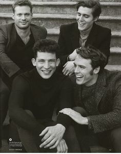 Vogue UK's The Riot Club shoot by Scott Trindle.