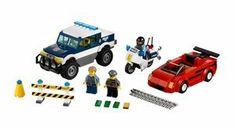 #LEGO City 60007: High Speed #Chase #Highspeed #burglar #police #car #sportcar