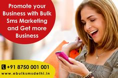 Sending SMS messages to customers who have opted in to receive marketing and promotional messaging is a great way to ensure that the right message is going to the right people at the right time. Know more visit : http://www.ebulksmsdelhi.in/