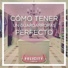 Seguí estos tips y armá tu guardarropas perfecto!  #TipDeModa #muyfelicity  By Felicity Urban