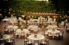 Reception at Franciscan Gardens, San Juan Capistrano