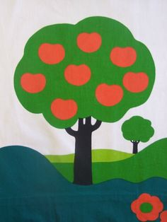 Image of Huge 70s Apple Trees - from www.rainbowvintagehome.co.uk